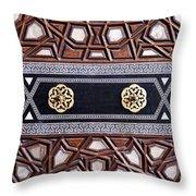 Sultan Ahmet Mausoleum Door 03 Throw Pillow