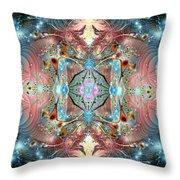 Sultans Magic Carpet Throw Pillow