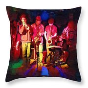 Sultans Of Swing Throw Pillow
