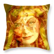 Sum Of All Desires Throw Pillow