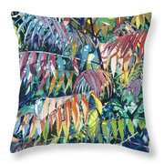 Sumac Spectacular Throw Pillow