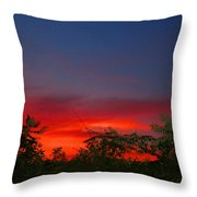 Sumac Sunset Throw Pillow