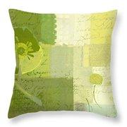 Summer 2014 - J103155155m04-green Throw Pillow