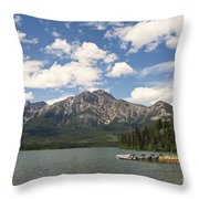 Summer At Pyramid Lake Throw Pillow