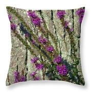Summer Bloom 2 Throw Pillow