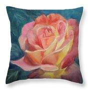 Summer Bloom Throw Pillow