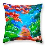 Summer Throw Pillow