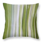 Summer Day Abstract Throw Pillow