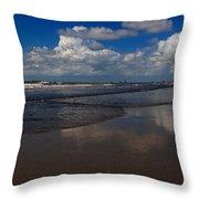 Summer Day At The Beach Throw Pillow