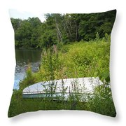 Summer Day  Throw Pillow by Deborah Fay