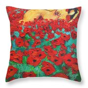 Summer Dream 2 Throw Pillow