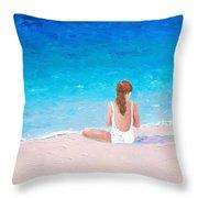 Summer Dreams Throw Pillow