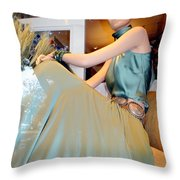Summer Elegance Throw Pillow