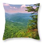 Summer Evening At The Gap Throw Pillow