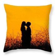 Summer Evening Love Throw Pillow