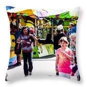 Summer Fair-12 Throw Pillow