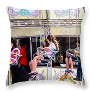 Summer Fair-8 Throw Pillow