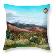 Summer Flight 4 Throw Pillow