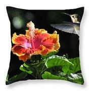 Summer Friends Throw Pillow