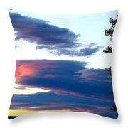 Summer Grandeur Throw Pillow