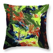 Summer Hiking Trail 1  Throw Pillow