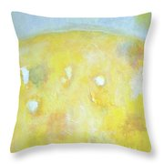 Summer Ice Cream Stains No 2 Throw Pillow