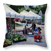 Summer In Hingham Two Throw Pillow