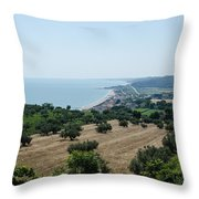 Summer In Italy Throw Pillow