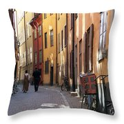 Summer In The Shade Throw Pillow