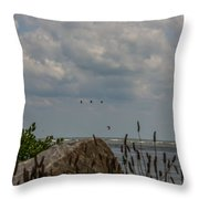 Summer Is Calling Throw Pillow