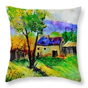Summer Landscape 316062 Throw Pillow