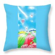 Summer Lights Throw Pillow