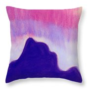 Summer Midnight Throw Pillow