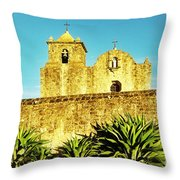 Summer Mission Throw Pillow