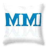 Summer Reflected Throw Pillow