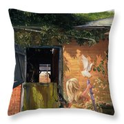 Summer Reflection Throw Pillow by Timothy  Easton