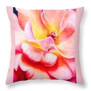 Summer Romance Throw Pillow