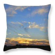 Summer Sets Panorama Throw Pillow