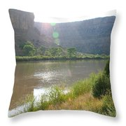 Summer Solitude Throw Pillow