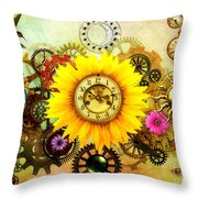 Summer Solstice 2014 Throw Pillow