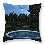 Summer Storm Coming Bahai Temple Throw Pillow