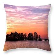 Summer Sunrise  Throw Pillow