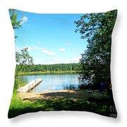 Summer Sweet Spot Throw Pillow