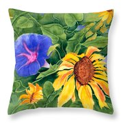 Summer Tango Throw Pillow