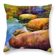 Summer Tranquility Throw Pillow