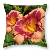 Summer Valentine Pair Throw Pillow