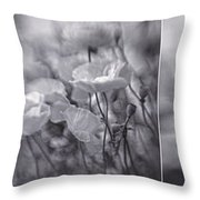 Summer Whispers Collage Throw Pillow