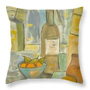 Summer Wine Throw Pillow