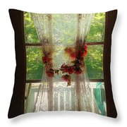 Summerglow Throw Pillow