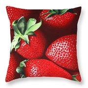 Summer's Bounty Throw Pillow